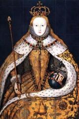 Elizabeth Coronation portrait